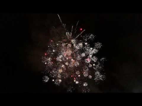 Новогодний Салют В Долгопрудном / New Year Fireworks in Dolgoprudnyy 2018