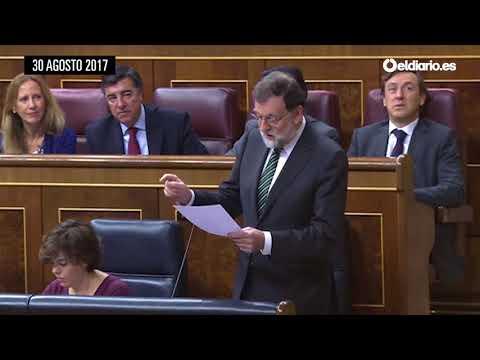 Las veces que Rajoy habló (y evitó mencionar) de la trama Gürtel