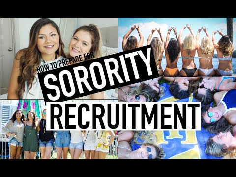 PREPARING FOR SORORITY RECRUITMENT | BiancaCelinexo♡