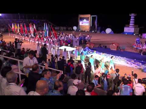 Opening Ceremony - Asian Beach Games 2014