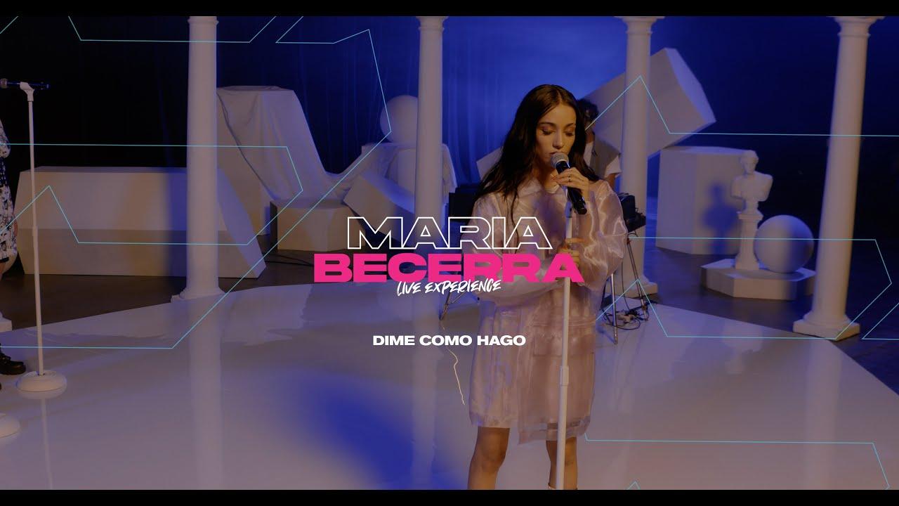 Maria Becerra - Dime Como Hago (Live Stream Show Vivo)