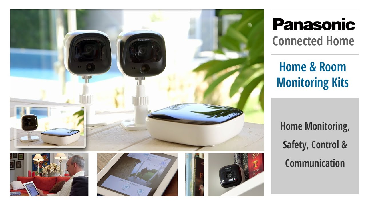 Home Monitoring System : Home and room monitoring kits for panasonic s
