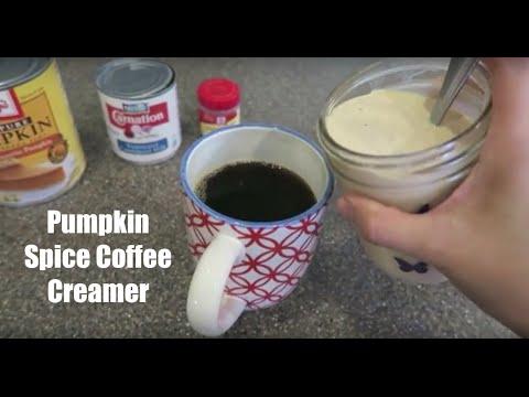 Easy Pumpkin Spice Coffee Creamer Recipe