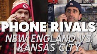 PHONE RIVALS: New England Vs. Kansas City