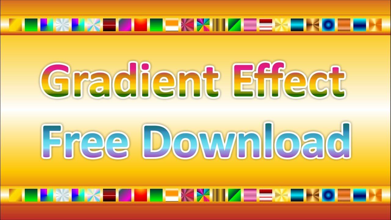 Gradient Effect in Corel Draw Free download by #msbgrafix