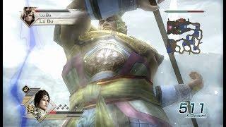 Dynasty Warriors 6 Mod - Generic Large Warrior vs. Lu Bu