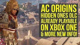 Assassin's Creed Origins The Hidden Ones PLAYABLE ON XBOX ONE For Some People (AC Origins DLC)