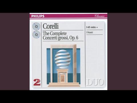 Corelli: Concerto Grosso In B Flat, Op.6, No.11 - Rev. Vittorio Negri (1923 -) - 4. Sarabanda:...