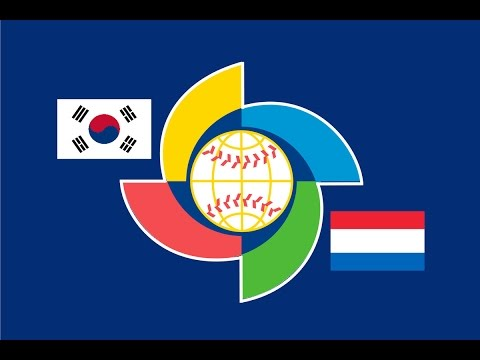 2017 World Baseball Classic: Netherlands vs Korea Highlights