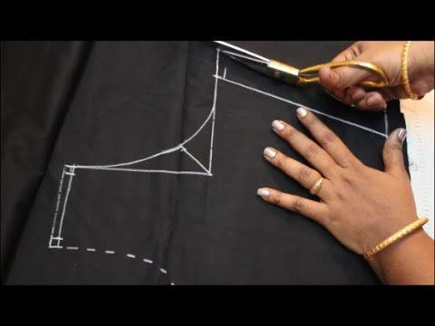 Blouse Cutting & Stitching In Tamil (DIY)