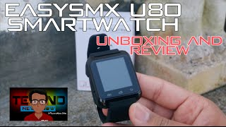EasySMX U8/U80 SmartWatch Review for Android iPhone Windows Phone | The Cheapest SmartWatch