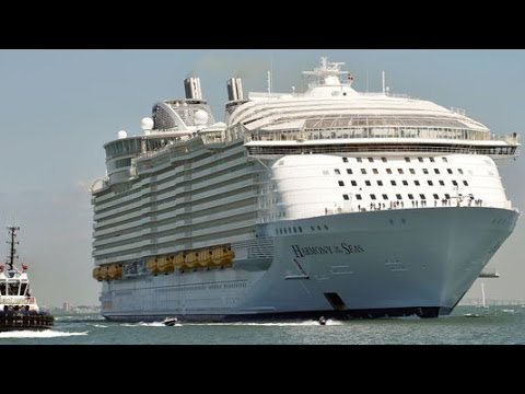 The World's Biggest Cruise Ship Just Set Sail on Its First Voyage