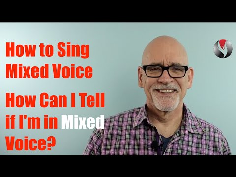 how to find mixed voice