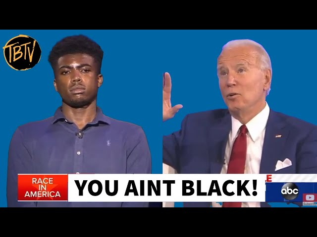 🆕 Joe Biden Insults Young Black Voter During ABC Town Hall | Tim Black