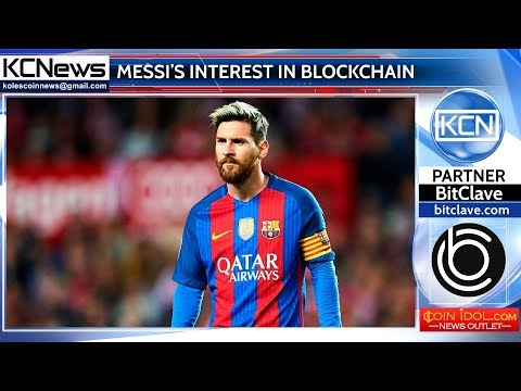 Lionel Messi joined the world of blockchain