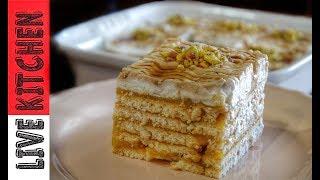 """""""Το Aγαπημένο μου γλυκό με 4 Υλικά""""!!!Amazing dessert with 4 Ingredients"""