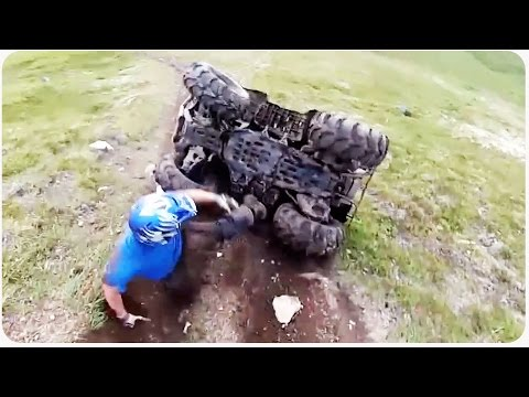 ATV Rolls Over Driver | Modern Day Sisyphus