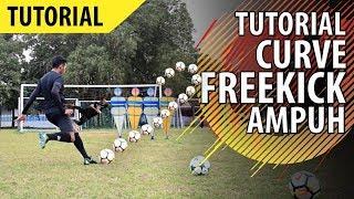 Tutorial Mudah Tendangan Melengkung/Pisang di Sepakbola (CURVE FREEKICK)