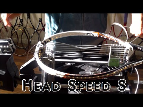 How to String a Tennis Racquet:  String Job - Prince Neos -Head Speed S 16x19
