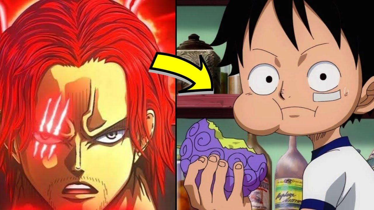 【海賊王】如果魯夫沒有吃下橡膠果實 紅髮要怎麼處理這顆惡魔果實呢??