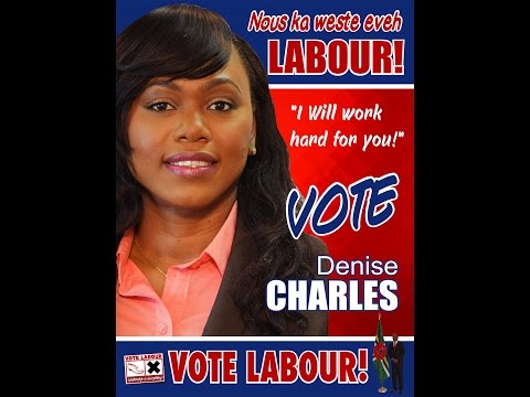 Denise Charles for Soufriere! Final Rally before Voting!