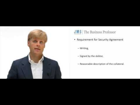 Attachment of a Security Interest
