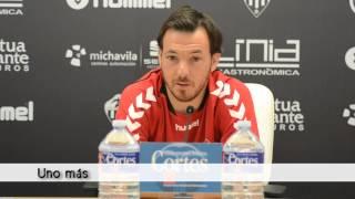"Rubén Suárez: ""Tenemos que defender este escudo a muerte"" (01/09/2015)"