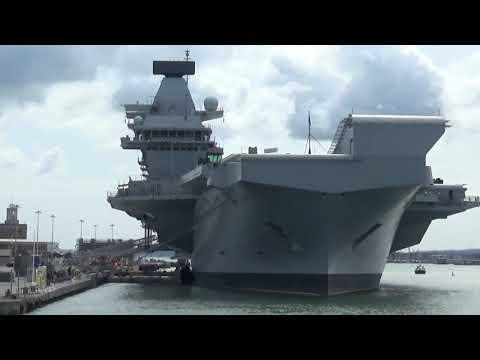 Portsmouth Harbour Tour 24th August Incl. Queen Elizabeth Aircraft Carrier