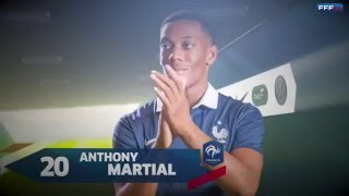 Gros plan sur Anthony Martial