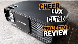 Cheerlux CL760 LCD HD Budget Projector Review: Better Than The Vivibright GP100 ?