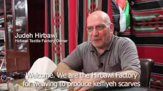 The last kuffiyeh factory in Palestine weaves symbol of resistance
