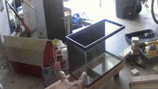 Diy Fish Tank Stand Part 2