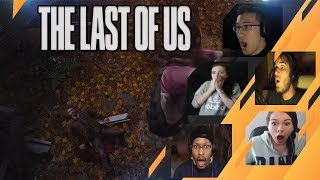 Gamers Reactions to Joel Falling Down | The Last of Us