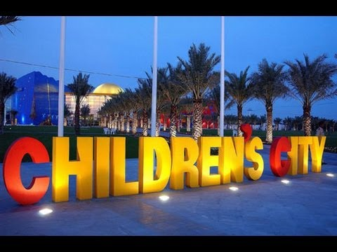 Dubai Creekside Childrens Park Dolphinarium *HD*
