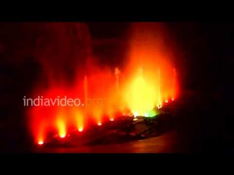 Chaurasta Musical Fountain, Darjeeling