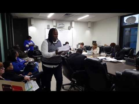 You got served...Hempstead School Board Meeting