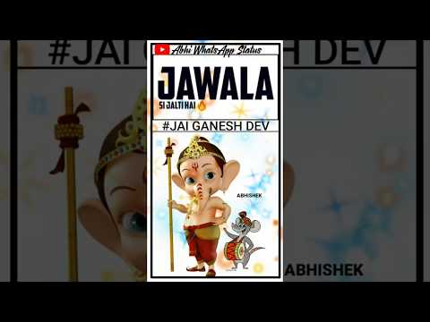 deva-shree-ganesha-|-whatsapp-status-video|ganesh-chatuthi-dj-remix-status-2019-|aayi-dev-bappa-aale