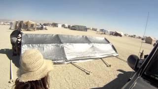 Canopy Timelapse Burning Man