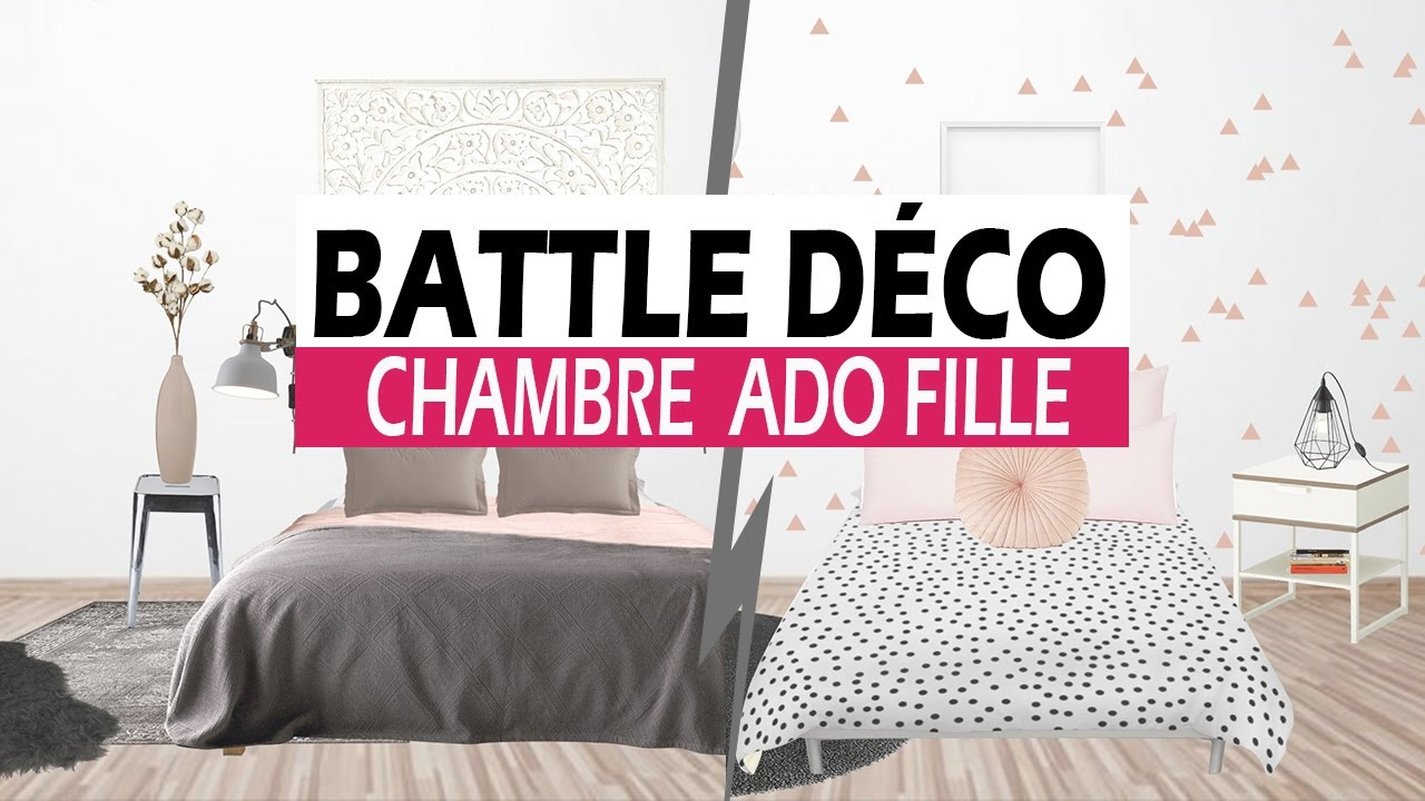battle d co une chambre d 39 ado unique youtube. Black Bedroom Furniture Sets. Home Design Ideas