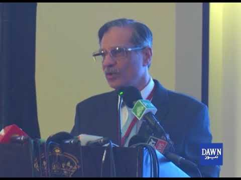 Chief Justice Mian Saqib Nisar Ka Khitaab