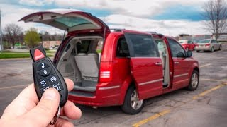 Chrysler Town&Country Limited обзор МИНИВЭН МЕЧТЫ