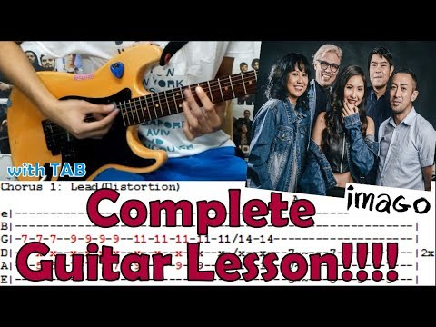 Akap - Imago(Complete Guitar Lesson/Cover)with Chords and Tab