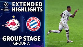Salzburg vs.Bayern Munich: Extended Highlights | UCL on CBS Sports