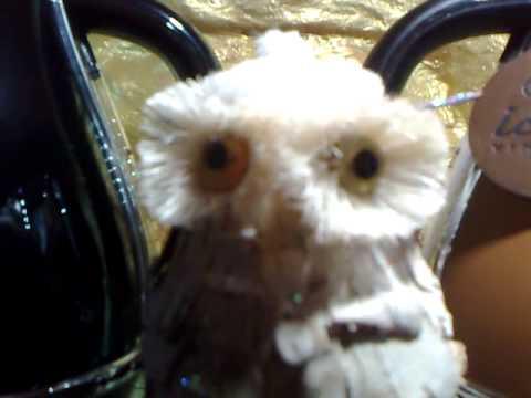 Поделка - белая сова