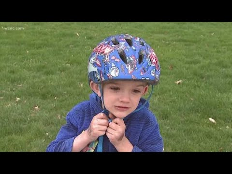 Put a lid on your kid for bike safety