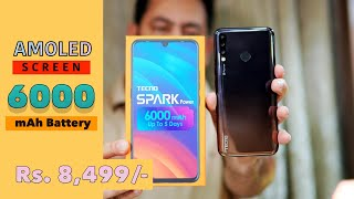 Tecno Spark Power Review - 6000 mAh battery, AMOLED screen worth it?