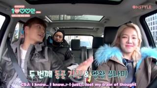 """Eng Sub  Hy10mlikes Funny Part3 """"hyoyeon's Camping Friend & What I"""
