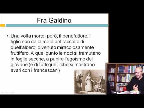 Fra Galdino - Videocorso su I Promessi Sposi - 29elode