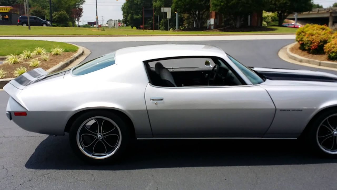 1971 camaro rs 454 pro touring fresh build for sale r3motorcars com youtube. Black Bedroom Furniture Sets. Home Design Ideas