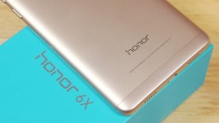 Honor 6X - Unboxing & Hands On! (Dual Cam | Kirin 655 | Metal Body)